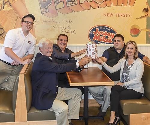 Jersey Mikes Receives MBA Spotlight Award for Fundraising Program Benefitting Moorestown Schools