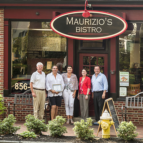 MBA Recognizes Maurizios Bistro with First Spotlight Award