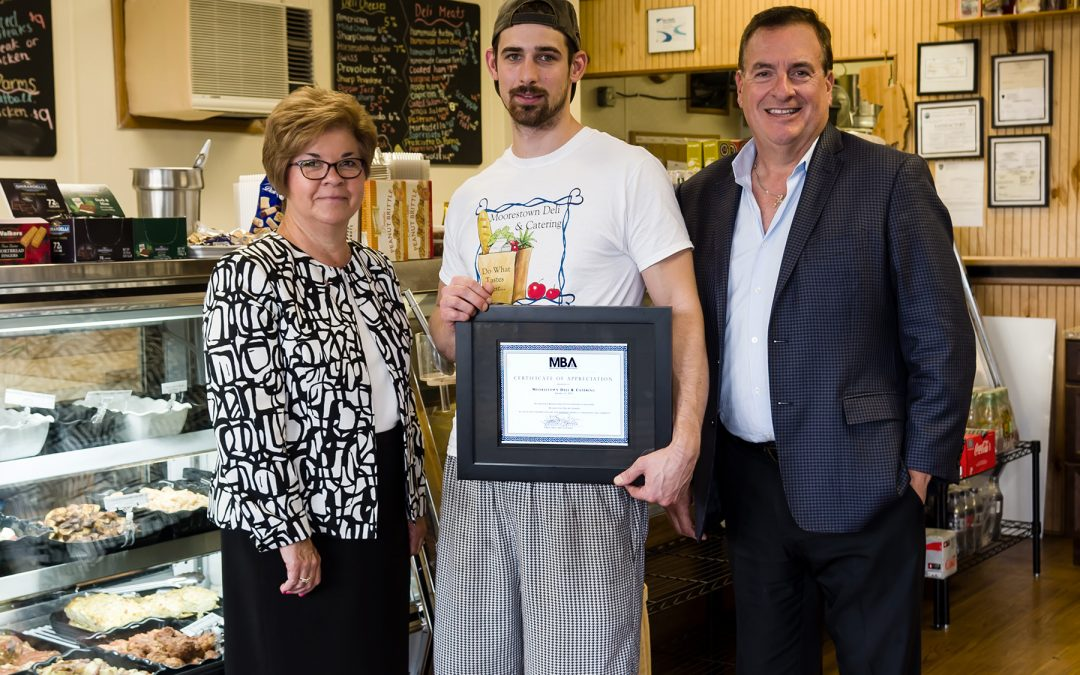 MBA Recognizes New Owners of Moorestown Deli & Catering