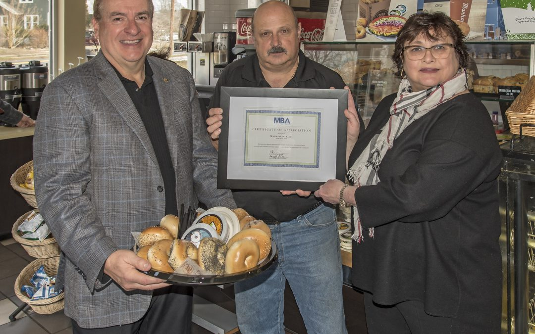 MBA Spotlights Manhattan Bagel